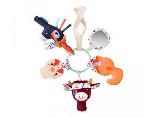 Immagine di Lilliputiens anello sensoriale Fattoria 83194 - Educativi