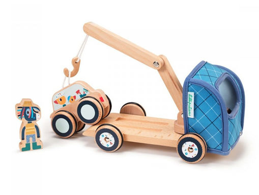 Immagine di Lilliputiens carro attrezzi 83232 - Giocattoli in legno