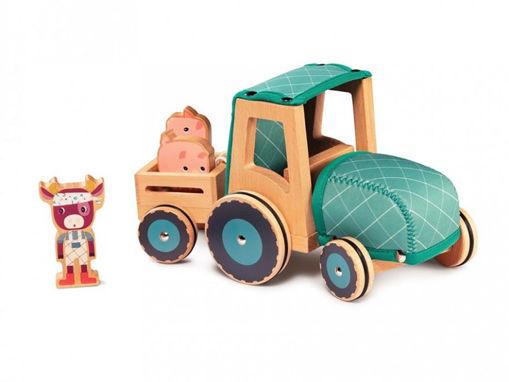 Immagine di Lilliputiens trattore 83233 - Giocattoli in legno