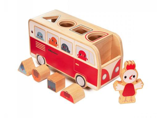 Immagine di Lilliputiens gioco delle forme 83261 - Giocattoli in legno